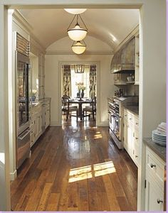 French Country Galley Kitchen 47 best galley kitchen designs | galley kitchens, kitchen floors