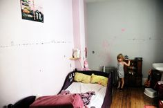 This room is so old, scattered and messy, but for some reason, I like it!
