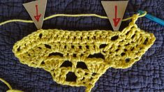 Diagram of the shawl on Etsy!