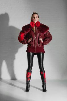 Fashion Desinger, Fashion Studio, Embroidery Designs, Bomber Jacket, Winter Jackets, Punk, Silhouette, Leather, Kisses