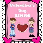Valentine's Day BINGO  This zipped file is a BINGO activity for your classroom. The game board does not contain B-I-N-G-O though. Instead, the cate...