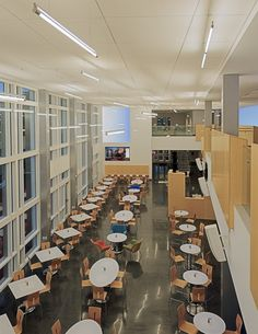 SUNY Institute of Technology Student Center / QPK Design #technology #geek #tech #teknoloji #bilisim #digital #media