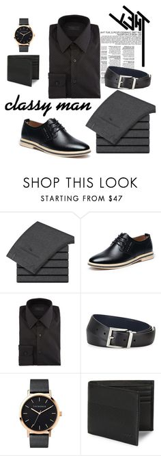 """""""Men's fashion"""" by azrexy ❤ liked on Polyvore featuring Prada, The Horse, HUGO, men's fashion and menswear"""