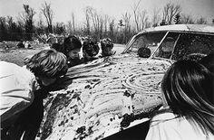 """""""Women licking jam off of a car"""" Allan Kaprow"""