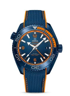 Omega Seamaster Planet Ocean Big Blue GMT watch - Perpetuelle