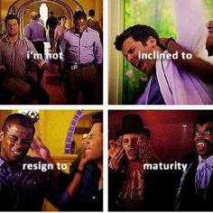 The day when Shawn becomes mature will be the day I will stop watching psych