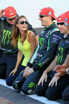 Kyle Busch - Indiana 250...just love watching Kyle and Samantha!  A great couple.