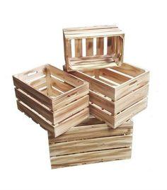 Plus de 1000 id es propos de shopping d co sur pinterest - Acheter des caisses en bois ...