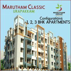 Marutham Classic is surrounded by a beautiful landscape and fundamental amenities. The project is also positioned near best schools, hospitals, entertainment zones and many.