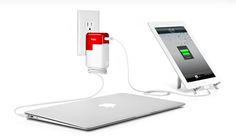 Charge 2 devices in 1 with the PlugBug