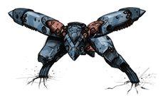 Metal Gear Ray sketch