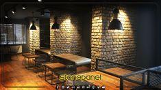 Mekanlarınıza sıcaklık katan tuğla duvar kaplamalarımız, sizin de duvarlarınıza çok yakışacak. Türkiye'nin en kaliteli tavan kaplamaları ve duvar panelleri üreticisi; #Stonepanel.  Your walls will look good with our brick wall coverings that add warmth to your spaces. #Stonepanel is Turkey's highest quality manufacturers of roof coverings and wall panels.  Diğer referanslarımız ve daha fazla ürün seçeneği için   For see other products and references; www.stonepanel.com.tr ☎ 0216 384 06 65