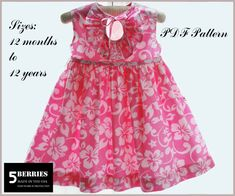 toddlers dress patterns | Clothing Patterns For Sewing