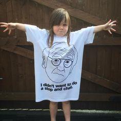 "Larry David ""Stop & Chat"" T-Shirt"