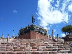 Monumento a los Héroes de la Independencia Argentina, Jujuy, Argentina.