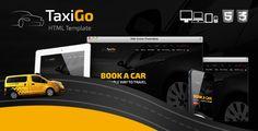 TaxiGo - Taxi Company & Cab Service Website Template .