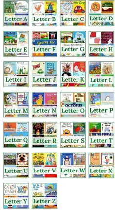 Letter of the Week Book List (from The Measured Mom) Kindergarten Preschool Letters, Letter Activities, Preschool Books, Learning Letters, Kindergarten Literacy, Preschool Learning, Children Activities, Letter Recognition, Recognition Ideas