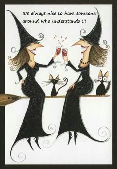 just us witches....