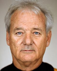 Bill Murray - Great celebreties Photos by New York based photographer Martin Schoeller.
