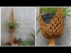 Day 24 - Macramé Plant Hanger 30 days Challenge #24 - DIY Tutorial for b... Diy Tutorial, Challenge 24, Macrame Plant Hangers, Channel, Simple, Plants, Plant, Planting, Planets