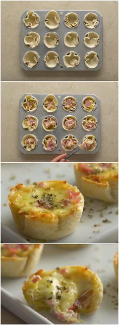 LANCHE DE TORTINHA, UMA DELÍCIAAAA! (veja a receita passo a passo) #lanche #tortinha #tortinhasalgada
