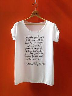 The 1975 shirt Matthew Healy say  the 1975 band by Hobbyshirts