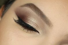 How to Chocolate Smokey Eyes in 30 Seconds