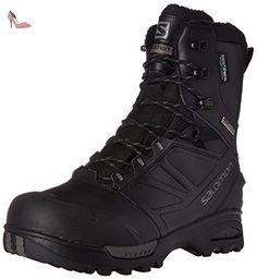 Salomon TOUNDRA PRO CSWP boots d'hiver homme, black-black-autobahn, 42 2/3 - Chaussures salomon (*Partner-Link)