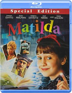 Have you enjoyed the film or been to the musical? Now try the book. Rhea Perlman, Mara Wilson, Mrs Doubtfire, Roald Dahl Books, Danny Devito, Her Brother, Love Messages, Matilda, Movies And Tv Shows