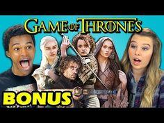 FineBros:Teens react to Game Of Thrones(Bonus)