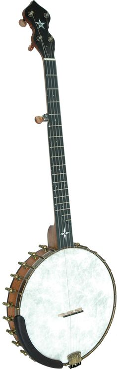 """Banjos > 5-String Open-Back > Old-Time > Wizard  WIZARD    The WIZARD features the OME 11"""" or 12""""  2-ply maple Tone Rim construction with additional rim brackets ( 24 on 11"""" models and 26 on 12"""" models) to increase the response and depth of tone.  It also features"""
