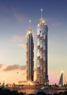 The JW Marriott Marquis Dubai Hotel in UAE