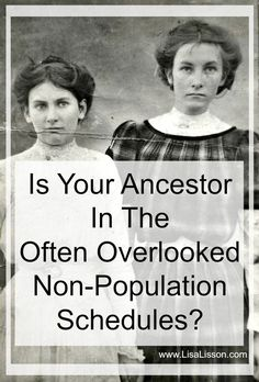 If your ancestor appears on the non-population schedules, you have a unique opportunity to learn more about them as individuals and their role in their community. Free Genealogy Sites, Genealogy Humor, Genealogy Forms, Genealogy Research, Family Genealogy, Genealogy Chart, Family Tree Research, Genealogy Organization, My Family History