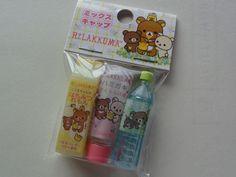 Cute Kawaii San-X Rilakkuma Koguma Pencil Caps - C