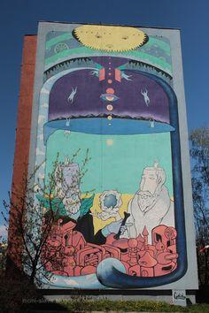 ...  świat wokół mnie   ...: ... gdańskie murale - Gd.Zaspa part.1 ...