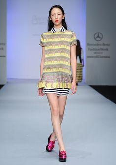 Issa Lish @ WANTED Model Management / Malafacha, Fashion Week Mexico SS'13