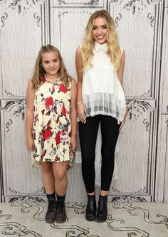 Maisy Stella and Lennon Stella attend AOL Build Speaker Series - Lennon & Maisy at AOL Studios In New York on July 6, 2016 in New York City.