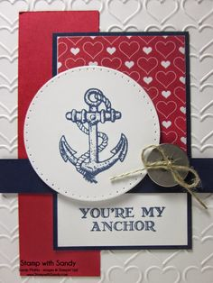 Stamp With Sandy: You're My Anchor, SSSC253
