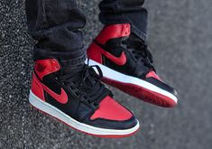 """Rumor has it that the Air Jordan 1 """"Bred"""" is coming back in remastered form for Fall 2016. One of the most coveted retro releases in Jordan Brand's arsenal hasn't seen a retro release since 2013 and a recent tweet … Continue reading →"""