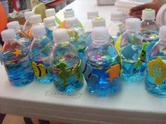 Curvy Eco-centric Recessionista!: Craft project::Aquariums in a bottle!