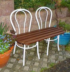 Sitzmöbel Upcycling / Seating furniture upcycled