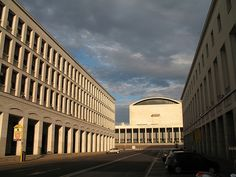 Rome - EUR, Palazzo dei Congressi by gengish, via Flickr.