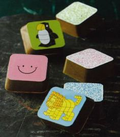 チョコグラフィ「QR チョコブロック」--新宿高島屋「アムール・デュ・ショコラ」で http://entabe.jp/news/article/3828
