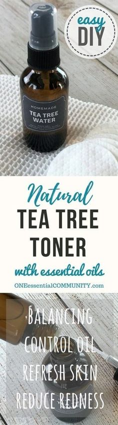 Essential oil toner for acne controls excess oil, shrinks appearance of pores, soothes skin Essential Oils For Skin, Essential Oil Uses, Young Living Essential Oils, Homemade Toner, Homemade Mask, Homemade Facials, Acne Control, Nail Polish, Young Living Oils