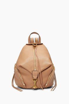 f40d93a72fc9 Desert Tan Leather Medium Backpack