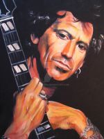 Keith Richards: You Got the Silver by Somtara