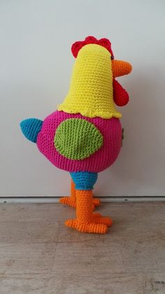 Die is gaaf! Haken kip Chicken crochet