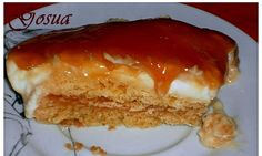 Gosua o Pastel Vasco Delicious Desserts, Yummy Food, Galette, Cupcake Cakes, Cravings, Cheesecake, Food And Drink, Deserts, Favorite Recipes