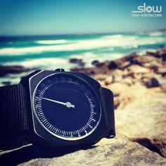 slow Jo 25 enjoying the Cape of Good Hope! #timetobeslow #watches #nylon #stainlesssteel #exchangeablebands #10atm #swissmade #onehand #24hours www.slow-watches.com