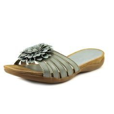 Array Maui N/S Open Toe Leather Slides Sandal ** Find out more about the great product at the image link.